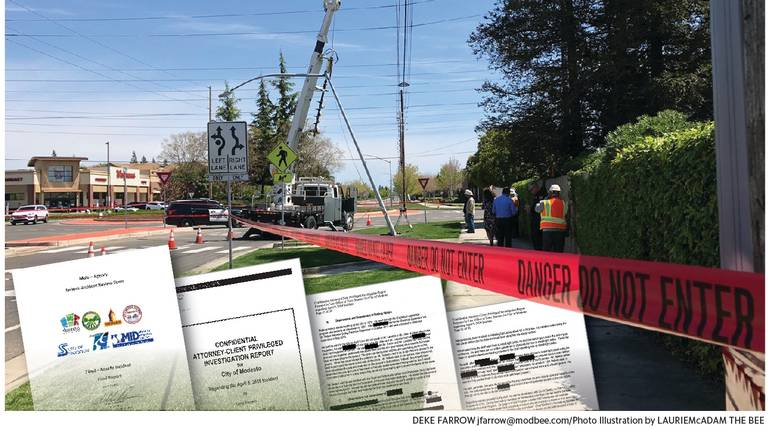 Our View: In Modesto's case of electrocuted worker, higher-ups must be held accountable