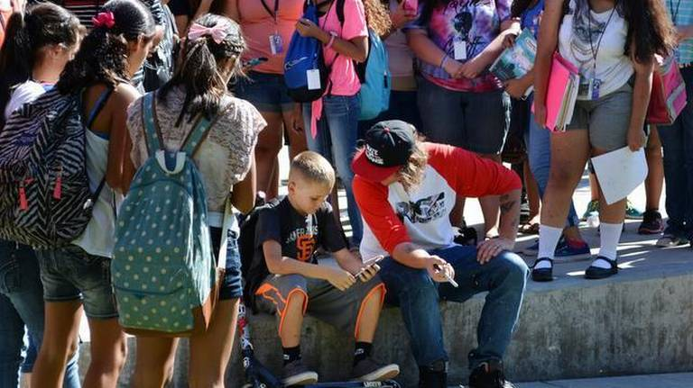 Kindness, respect urged by speaker at Dutcher Middle School in Turlock