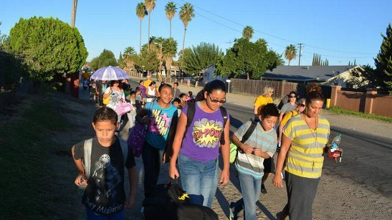 Tuolumne Elementary families take steps to make getting to school safer